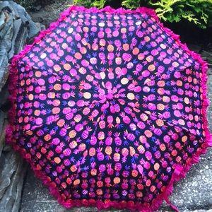 Betsey Johnson Pineapple Umbrella ☔️